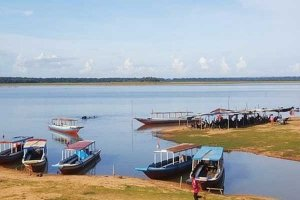 West Barray Lake Siem Reap Cambodia
