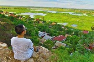 Phnom Krom mountain