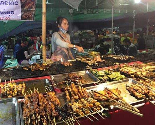 60 Meters Street Siem Reap, Cambodia
