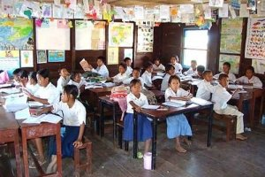 School in Siem Reap, Cambodia